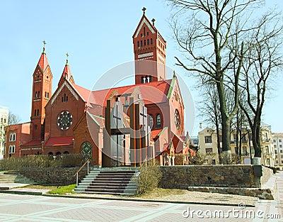 Catholic church  in Minsk