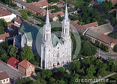 Catholic church in Romania