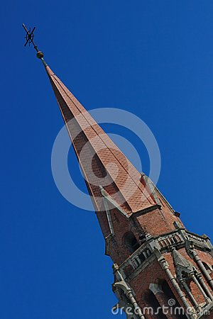 Free Catholic Church Tower In Cacica, Romania. Stock Photography - 117988102
