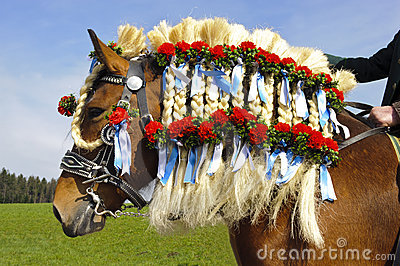 Catholic horse procession Editorial Photo