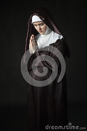 Free Catholic Nun Royalty Free Stock Image - 52657006