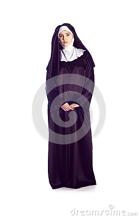 Free Catholic Nun Royalty Free Stock Photos - 55643708
