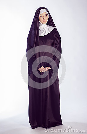 Free Catholic Nun Royalty Free Stock Photo - 62010775