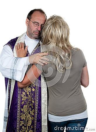 Catholic priest in love