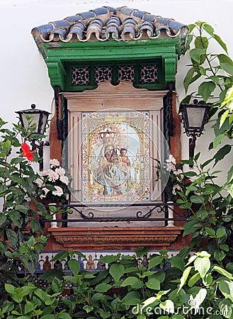 Catholic Religious Shrine or Icon