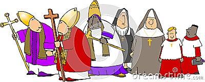 Catholics on parade
