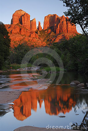 Free Cathredral Rock Stock Images - 15452854