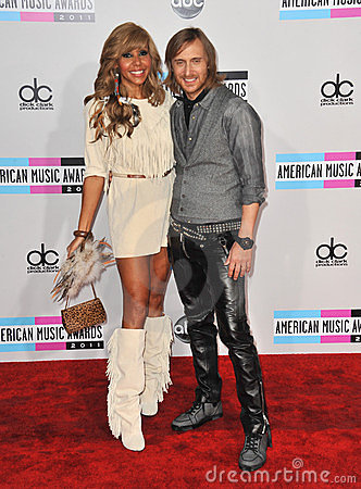 Cathy Guetta, David Guetta, Editorial Stock Image