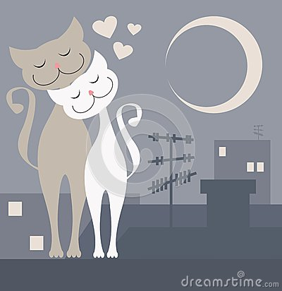 Free Cats In Love Royalty Free Stock Photos - 31585788