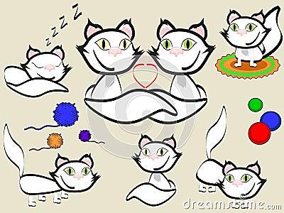 Cats set