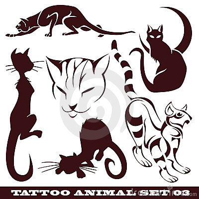 Cats for tattoo