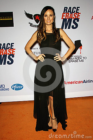 Catt Sadler at the 19th Annual Race To Erase MS, Century Plaza, Century City, CA 05-19-12 Editorial Photography