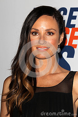 Catt Sadler arrives at the 19th Annual Race to Erase MS gala Editorial Photography