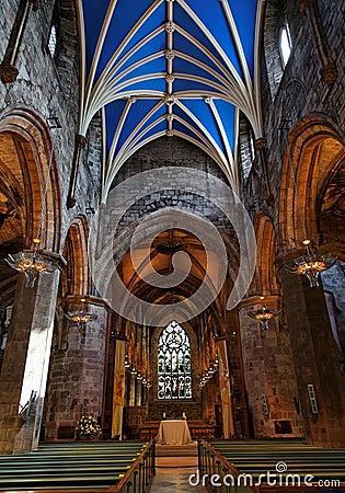 Cattedrale della st Giles. Edinburgh. La Scozia. Il Regno Unito.