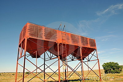 Cattle feed tower