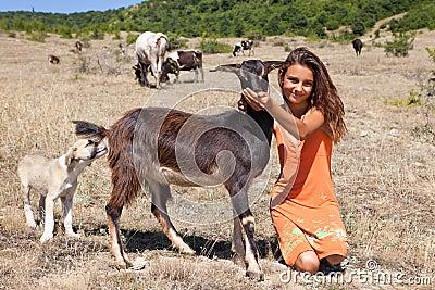 Cattle girl