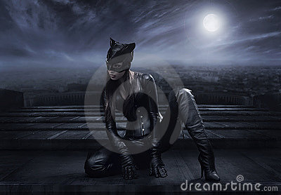 Catwoman Editorial Stock Photo