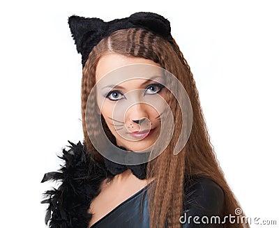 Catwoman portrait.