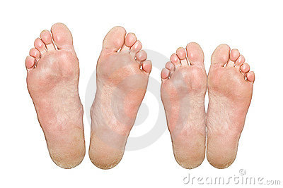 Caucasian Feet Royalty Free Stock Photo - Image: 22574565