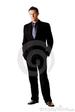 Free Caucasian Man In Suit And Tie Royalty Free Stock Photo - 6583515