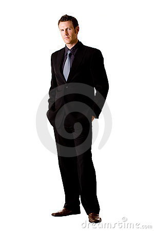 Free Caucasian Man In Suit And Tie Royalty Free Stock Photography - 6583517