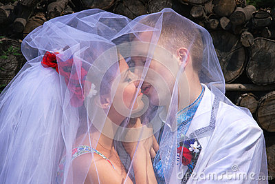 Ukrainian Bride And Groom Enter 43