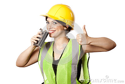 Alcohol Safety Woman Thumbs Up