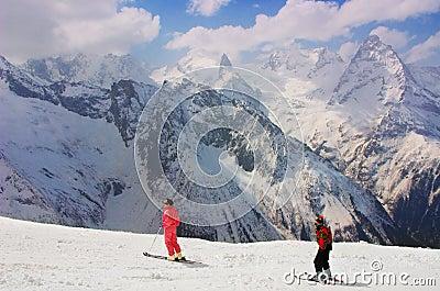 Caucasus mountain