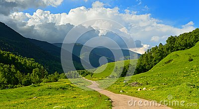 Caucasus road