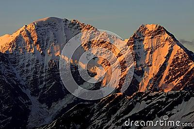 Caucasus sunrise
