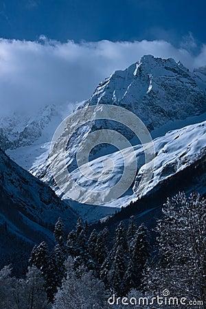 Caucasus winter