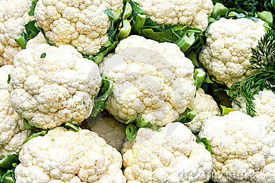 Cauliflower market