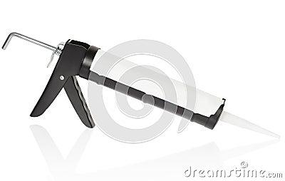 Caulk gun tool