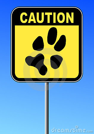 Caution no pets