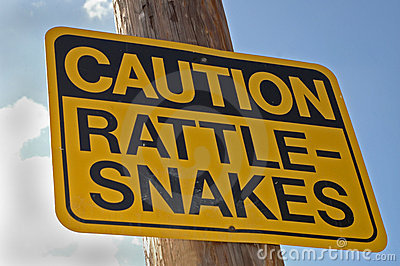 Caution: Rattle-Snakes