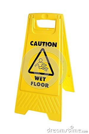 Free Caution Sign Stock Image - 19939281