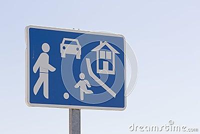Caution sign