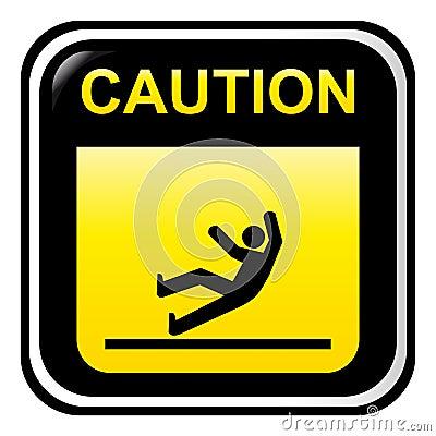 Caution - slippery