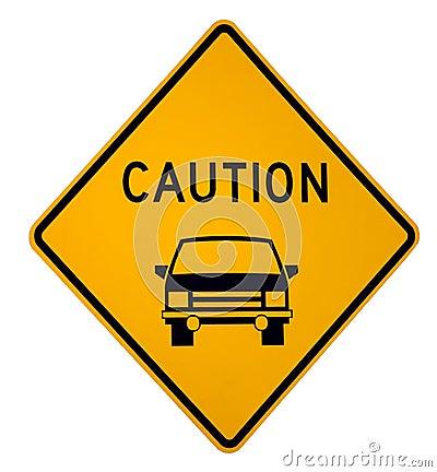 Caution Vehicle Ahead