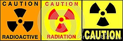 Caution/warning signs set