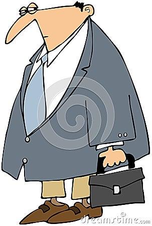 Cautious Businessman