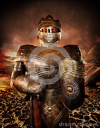 Cavaliere in armatura