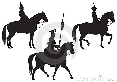Cavalry Horse riders