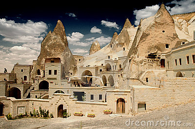 Cave Dwellings in Goreme, Cappadocia, Turkey