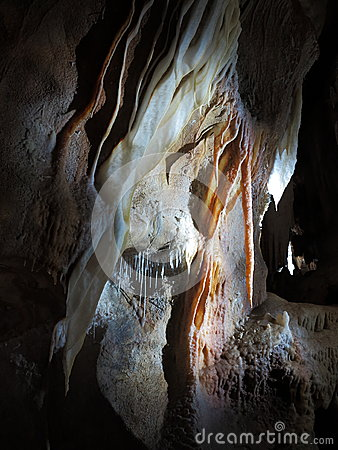 Cave formation close-up