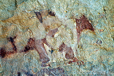Cave Painting of Cattle