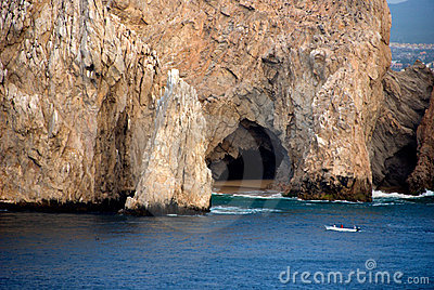 Cave at the Sea of Cortez