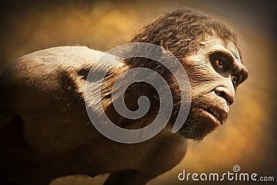 Caveman Editorial Photo