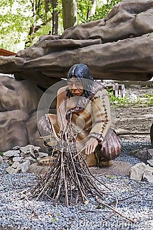 Caveman dummy