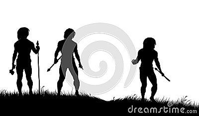 Caveman hunters